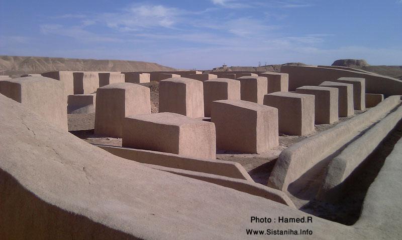 کشف ساختارهای جدید درنگیانا (دهانه غلامان) و اثبات آن