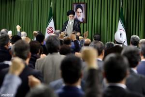 دیدار رئیس و نمایندگان مجلس شورای اسلامی