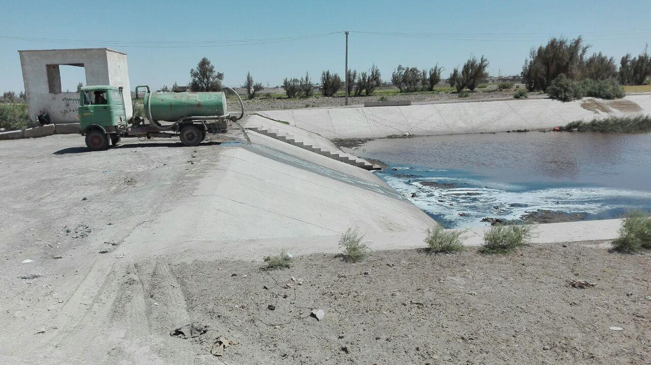 فاجعه زیست محیطی دیگری در زابل : آبیاری مزارع با فاضلاب در سه قلعه