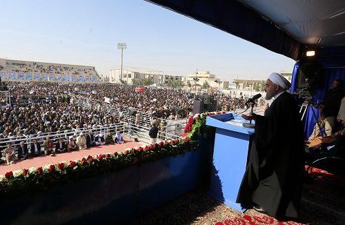 مشروح سخنرانی رییس جمهور در جمع مردم سیستان
